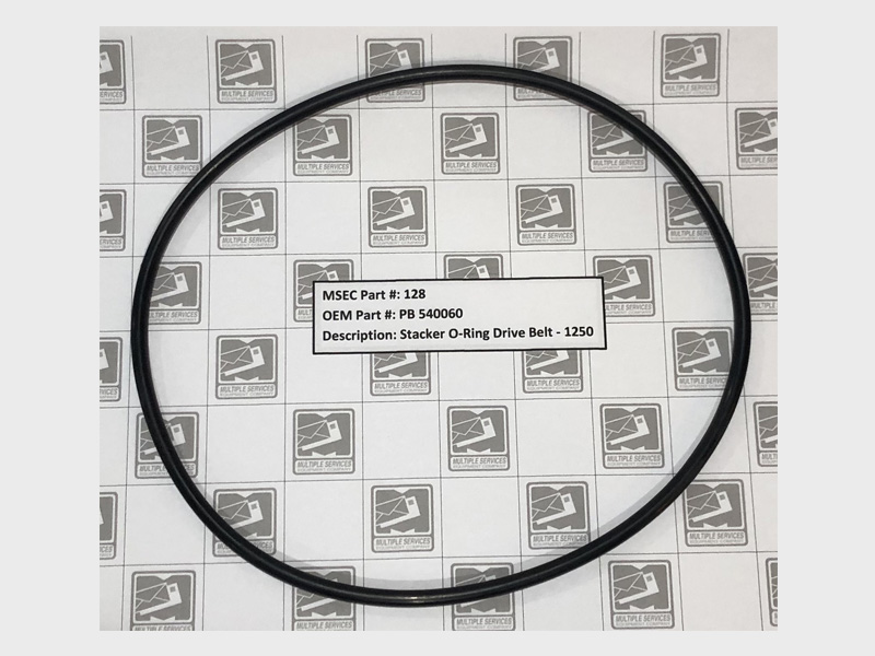 1250 Stacker O-Ring Drive Belt